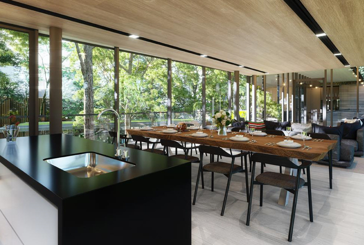 The Clement Canopy Clubhouse Dining