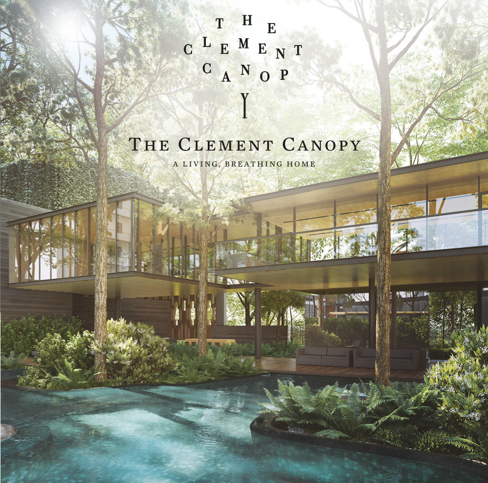 The Clement Canopy Condo Clubhouse . View from the Pool