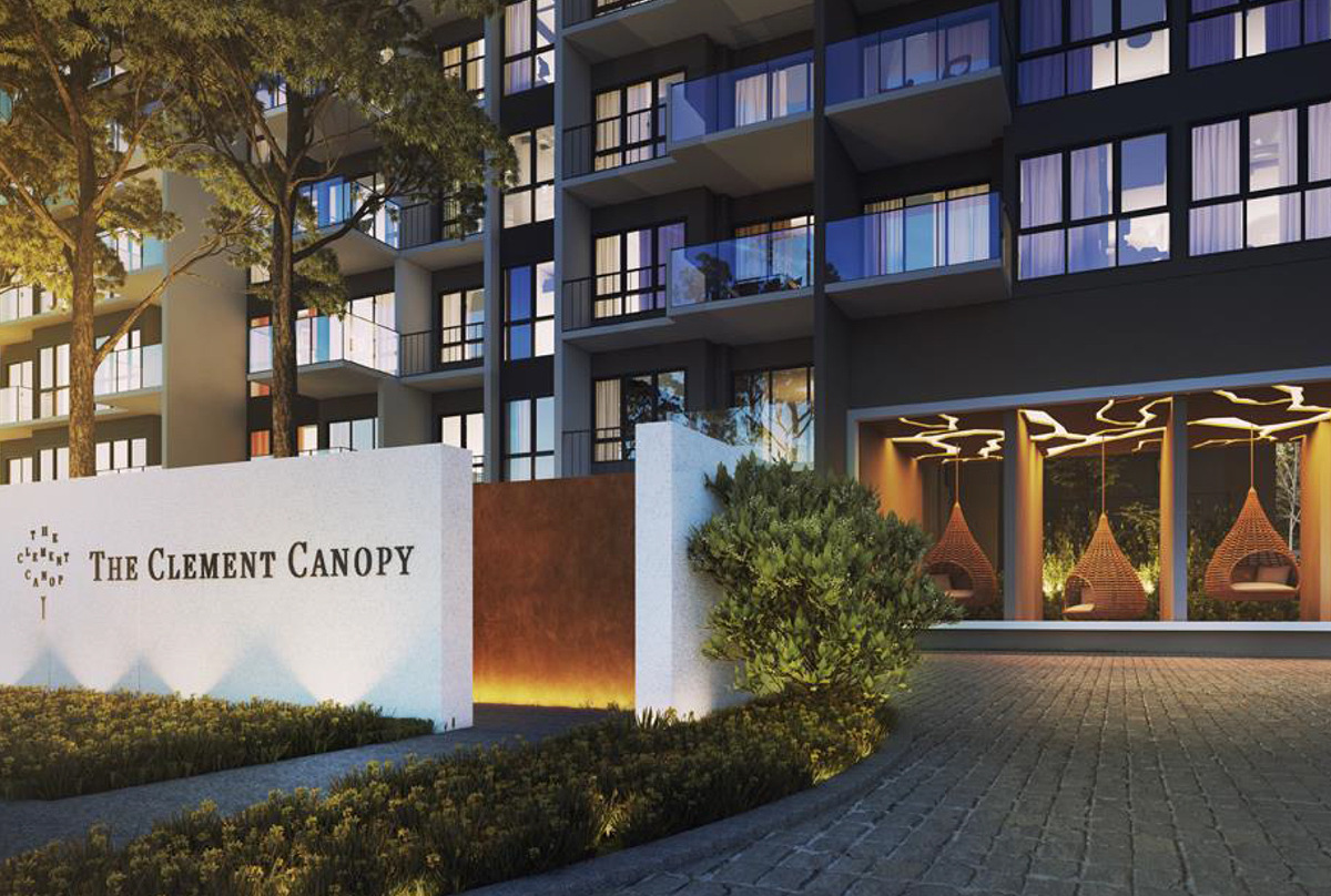 The Clement Canopy Singapore Entrance