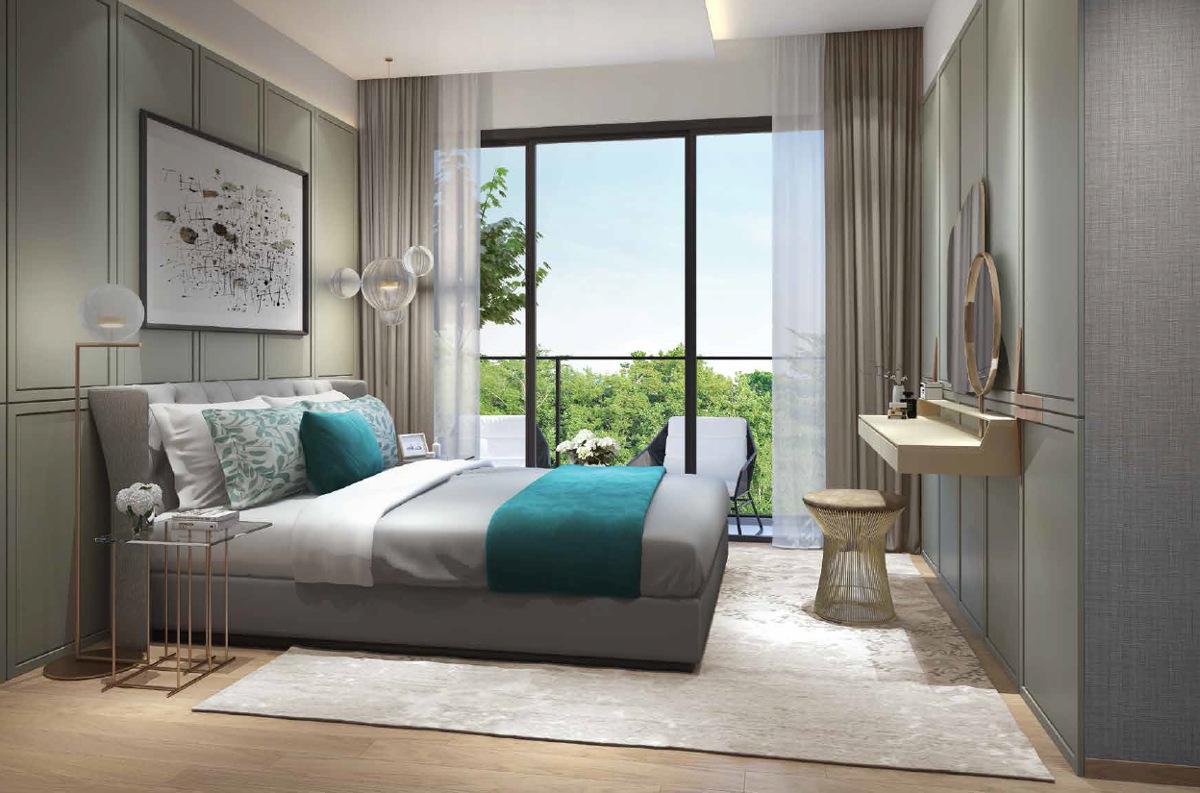 The Clement Canopy Floor Plan Bedroom
